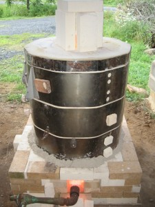 converted electric kiln